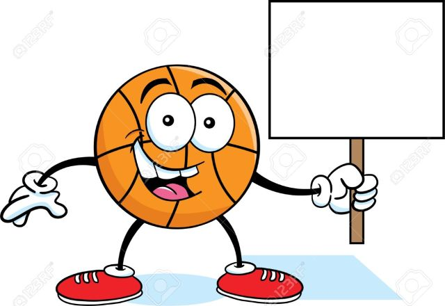 Basketball with arms and legs