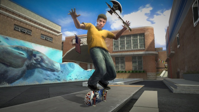 skate axe the game