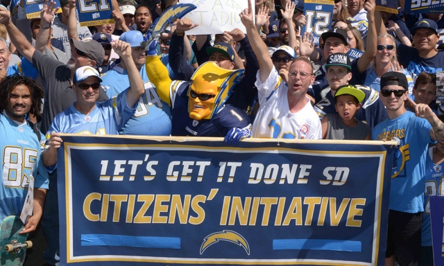 XXX NFL- SAN DIEGO CHARGERS STADIUM INITIATIVE RALLY__12472.JPG S USA CA