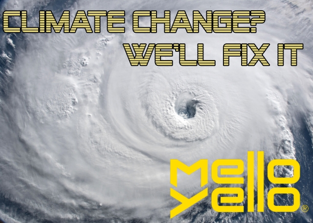 mello yello climate change