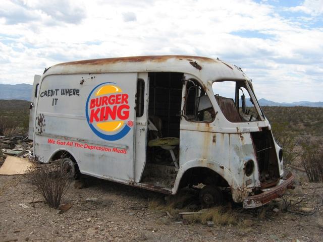 burger king truck