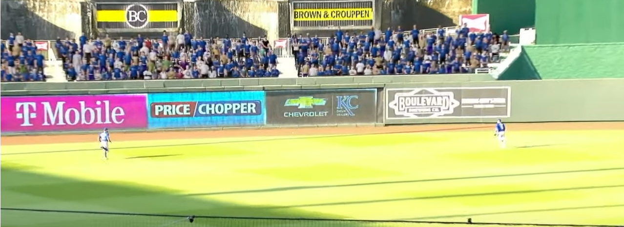 Royals outfield